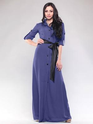Сукня чорнильного кольору | 4767199