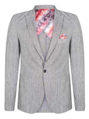 Піджак сірий   4715263