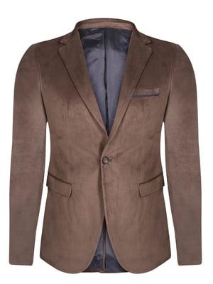 Піджак коричневий   4715271