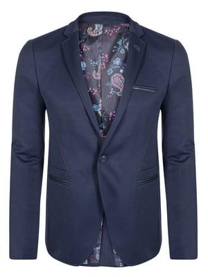 Піджак темно-синій   4715296