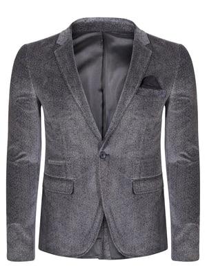 Піджак темно-сірий   4715304