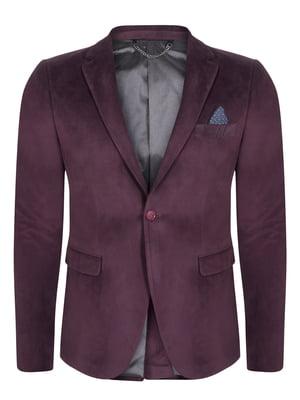 Піджак бордовий | 4715305