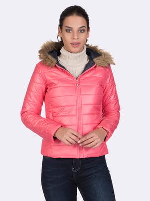 Куртка цвета пудры | 4764635