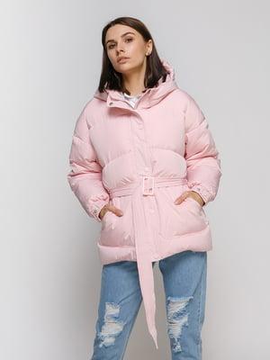 Пуховик рожевий   4709027