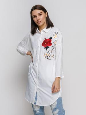 Сорочка біла з вишивкою | 4767890