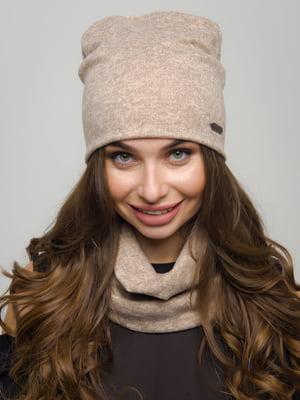 Комплект: шапка та шарф-хомут | 4772849