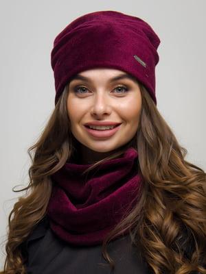 Комплект: шапка та шарф-хомут | 4772853