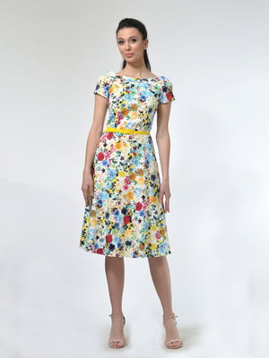 Сукня в квітковий принт | 4771628
