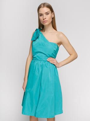 Платье бирюзовое | 2784754