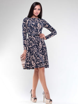 Платье в принт | 4619335