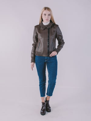Куртка коричневая   4705261