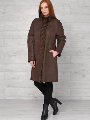 Дубленка коричневая | 4705360