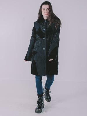 Пальто черное   4705409