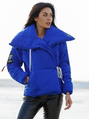 Куртка цвета электрик   4777343