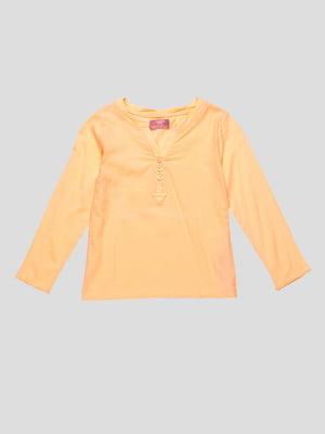 Лонгслив персикового цвета | 2383645