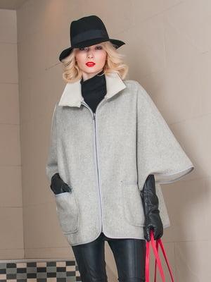 Пальто сіре | 3652666