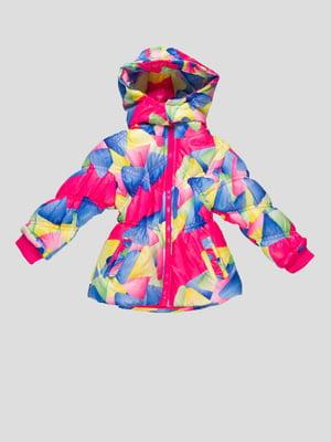 Куртка в принт | 4761286