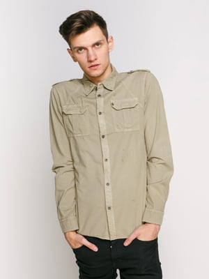 Рубашка зеленая | 2271831
