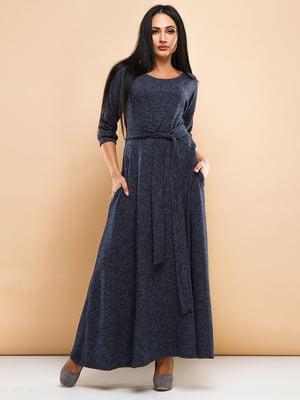 Платье темно-синее | 4778563