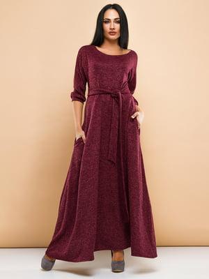 Платье бордовое | 4778568