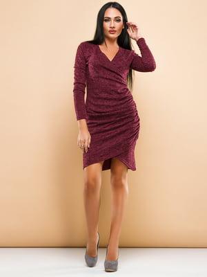 Платье бордовое | 4778582