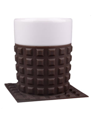 Чашка с силиконовой подставкой (350 мл)   4758439