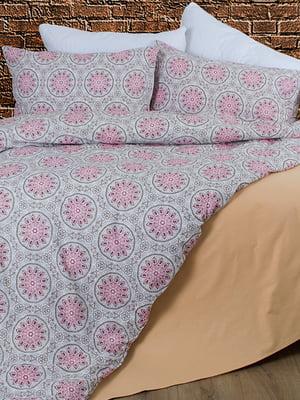 Комплект постельного белья двуспальный (евро) | 4707178
