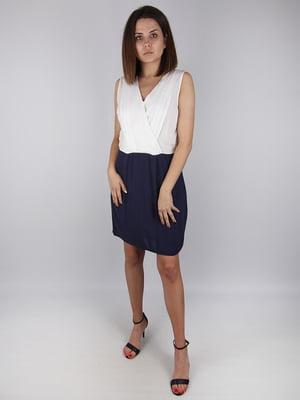 Сукня біло-синя - Naf Naf - 4732333
