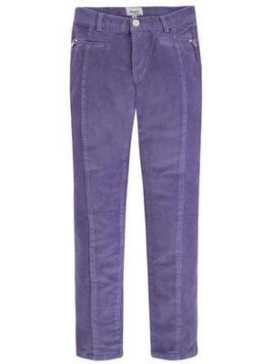 Брюки фиолетовые | 4781275