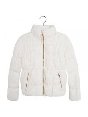 Куртка молочного цвета | 4781601