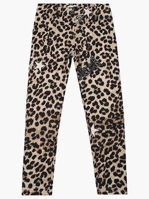 Леггинсы в леопардовый принт - To be too - 4781602