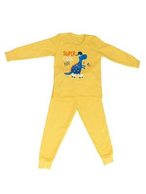 Піжама з начосом: лонгслів і штани | 4781120