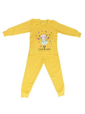 Пижама с начесом: лонгслив и брюки | 4781121