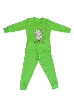 Пижама с начесом: лонгслив и брюки | 4781122
