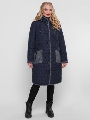 Пальто синее | 4781719