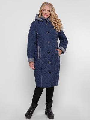 Пальто синее | 4781731