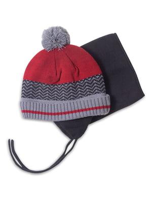Комплект: шапка і манішка | 4781827