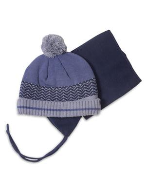 Комплект: шапка і манішка | 4781828