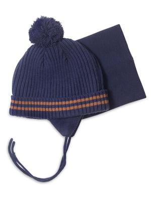 Комплект: шапка и манишка | 4781829