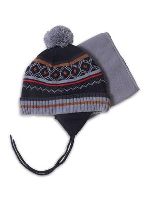 Комплект: шапка і манішка | 4781831
