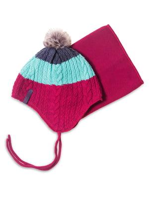 Комплект: шапка і манішка | 4781832