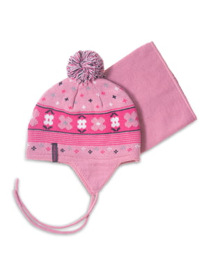 Комплект: шапка і манішка | 4781833