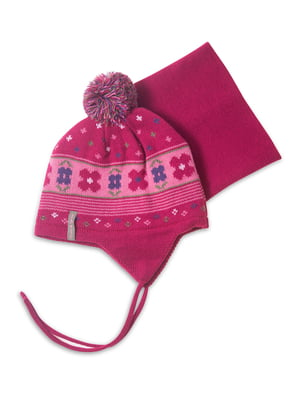 Комплект: шапка і манішка | 4781834