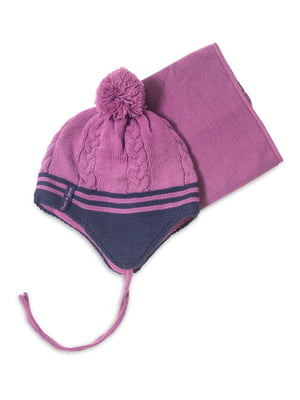 Комплект: шапка і манішка | 4781835