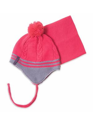 Комплект: шапка і манішка   4781836
