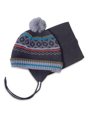 Комплект: шапка и манишка | 4781840