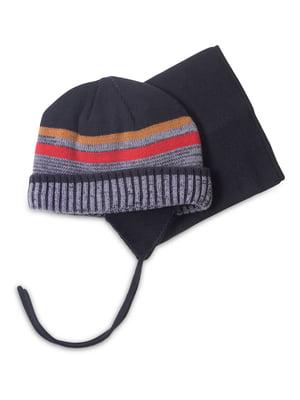 Комплект: шапка и манишка | 4781842