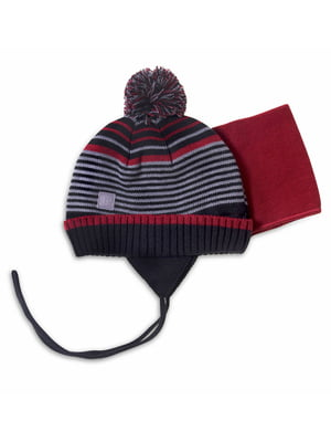 Комплект: шапка и манишка | 4781844