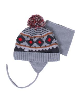 Комплект: шапка і манішка | 4781845