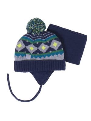 Комплект: шапка і манішка | 4781846
